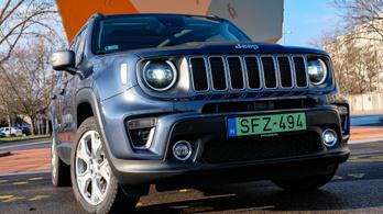Teszt: Jeep Renegade 4Xe Limited – 2021.