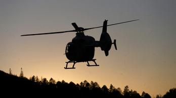 Lezuhant egy helikopter Alaszkában, öten meghaltak