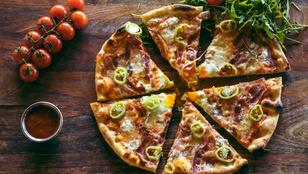 Jön a húsvét, készíts pizzát a sonka maradékából!