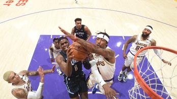 Sztárjai nélkül is nyert a címvédő Lakers