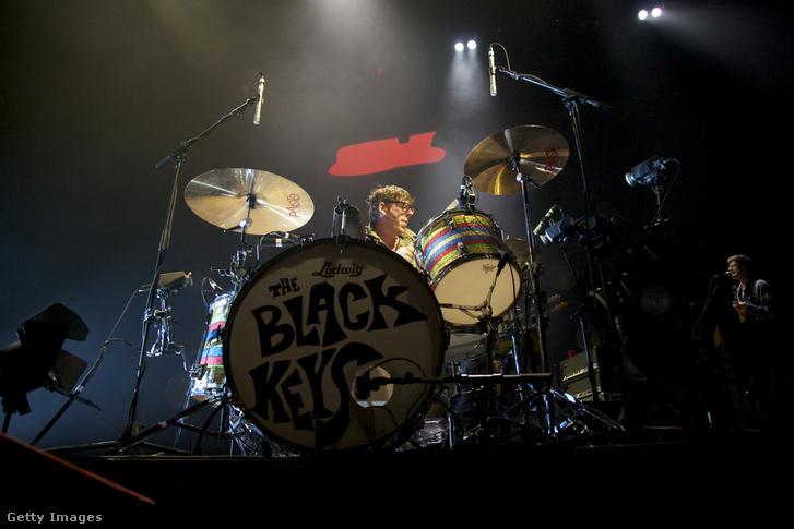 Patrick Carney The Black Keys dobosa 2012. március 14-én