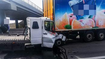 Súlyos baleset történt az M0-son