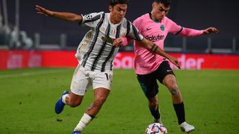 Csatárt cserélhet egymással a Barcelona és a Juventus