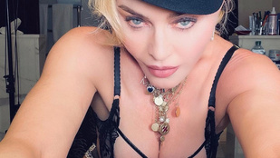 Madonna a legvetkőzősebb aranykorát idézi új fotóival