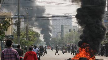 Az Egyesült Államok gazdasági szankciókat vezet be Mianmarral szemben