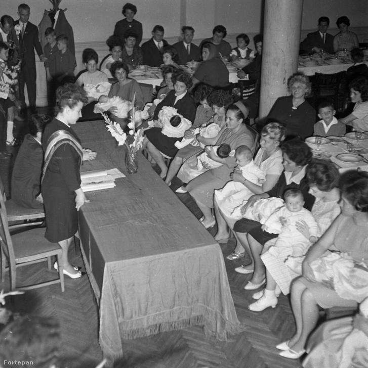 Névadó ünnepség 1964-ben