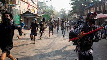 Több mint ötszáz civilt ölt már meg a mianmari hadsereg