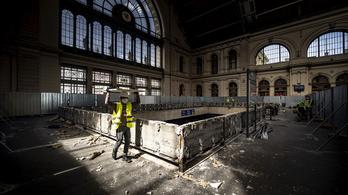 Kezdődik az akadálymentes új utascentrum építése a Keleti pályaudvaron