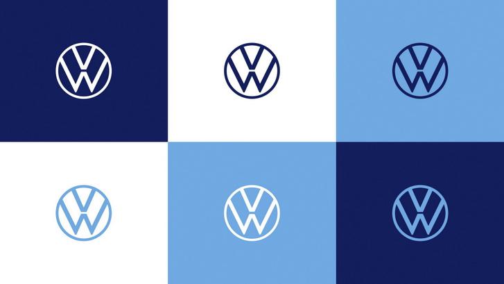 vw blue logo