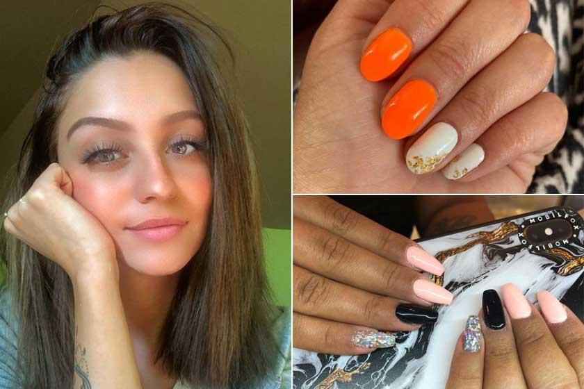 Patai Anna az Instagram-oldalán mutatja meg, milyen gyönyörű körmöket készít.