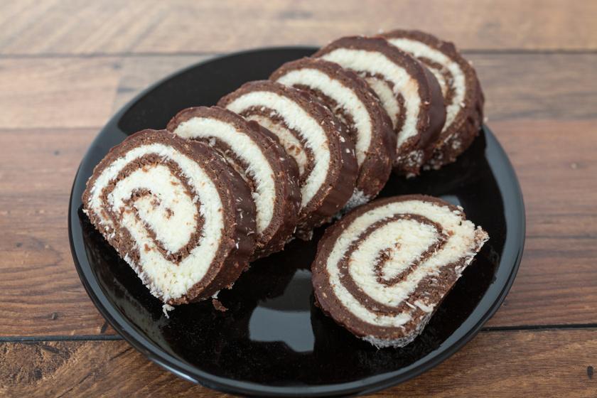 Mennyei kókusztekercs sütés nélkül: gyerekkori kedvenc, amit ma is mindenki szeret