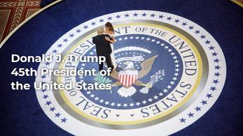 Így néz ki Donald Trump új, az elnökségét fényező honlapja