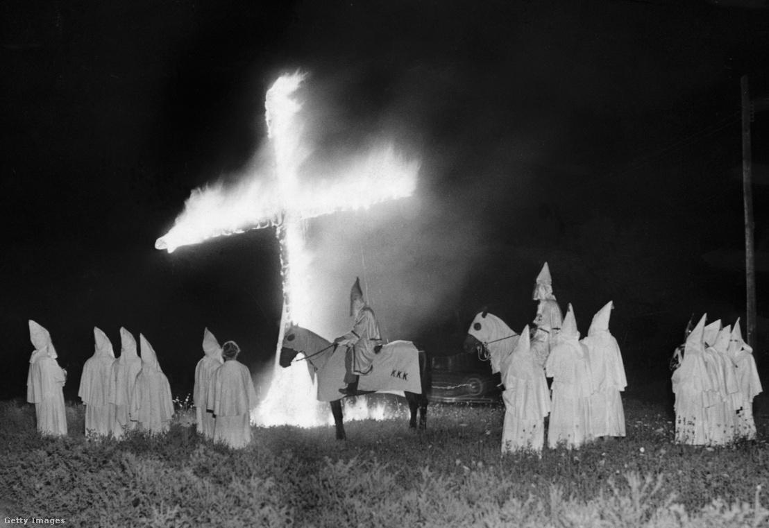 Ku-Klux-Klan-találkozó