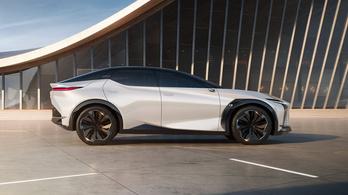 Lexus LF-Z: letisztultabb jövőkép