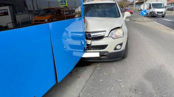 BKV-busznak ütközött egy ittas sofőr Budafokon