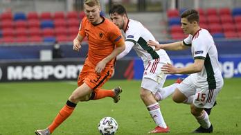 Súlyos vereséggel búcsúzott az Eb-től az U21-es válogatott