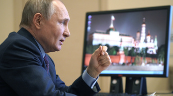 Donyec-medence: Putyin szerint Ukrajna visszalépett a fegyvernyugvástól