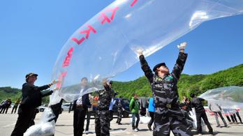 Nem repülnek többé hőlégballonok Észak-Koreába