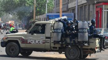 Tűzharc tört ki Niger fővárosában