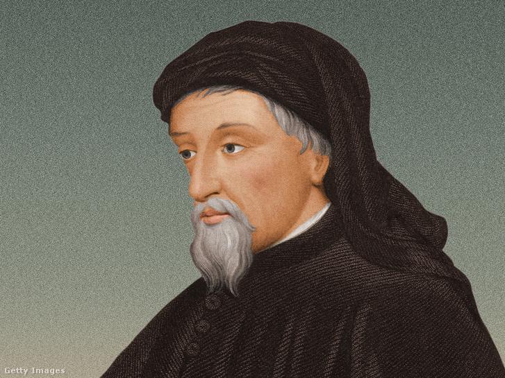 Geoffrey Chaucer portréja 1390 körül