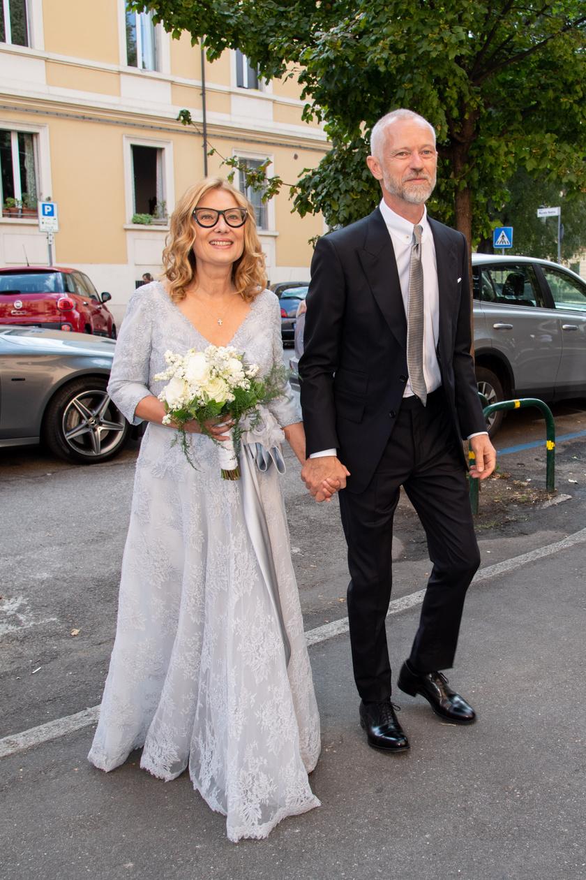 Nicoletta 2020 szeptemberében újraházasodott, Alberto Tinarelli felesége lett.