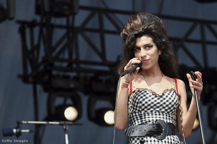Amy Winehouse a Lollapalooza-fesztiválon Chicagoban 2007 augusztus 5-én.