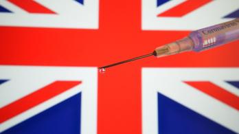 Már harmincöt millió oltást beadtak Nagy-Britanniában