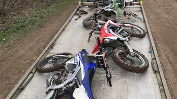 Illegális terepezés miatt Angliában lefoglaltak 11 motort és egy quadot