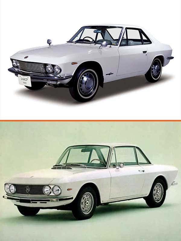 1966 Nissan Silvia/1965 Lancia Fulvia