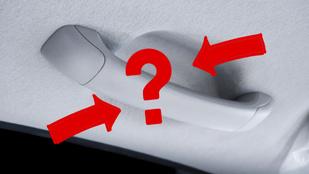 Tudod, miért van az autóban a kapaszkodó? Nem azért, amire először gondolnál...