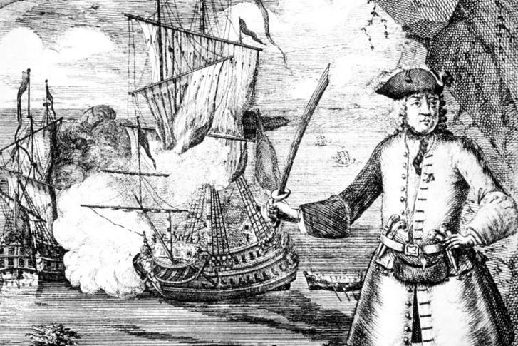 Henry Every 18. századi ábrázolása