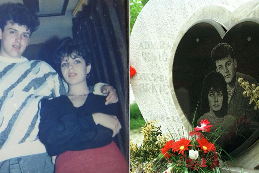 A szarajevói Rómeó és Júlia szívszorító története: menekülés közben lőtték le a szerelmeseket