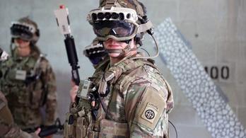 Kiterjesztettvalóság-szemüvegekkel erősít az amerikai hadsereg