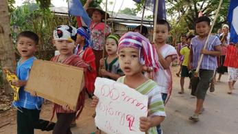 Már több mint 40 gyermeket ölt meg a mianmari hadsereg