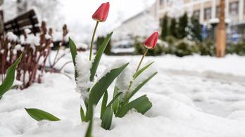 Itt a vége, borzasztó hideg lesz húsvétkor
