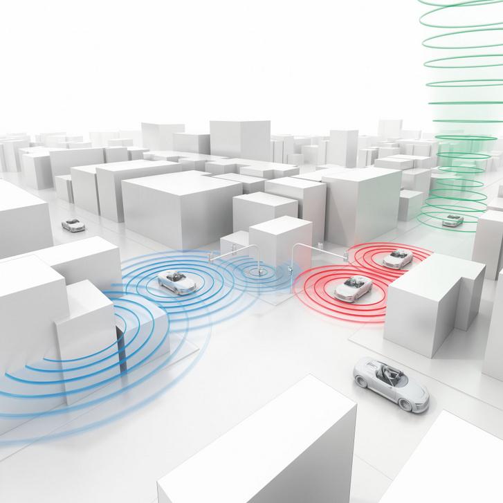 Autó-felhő kapcsolattal olyan járművek is információt szerezhetnek egymás mozgásáról, vagy a velük történt eseményekről, amelyek nem is látják egymást