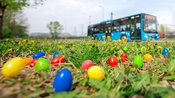 Így változik a menetrend a BKK járatain a húsvét alatt