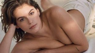 A Calvin Kleinnek sikerült visszafogottan erotikus képeket készíteni Kaia Gerberről