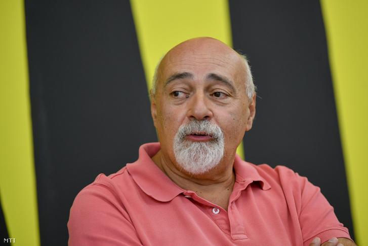 Antal Péter műgyűjtő 2020. július 13-án