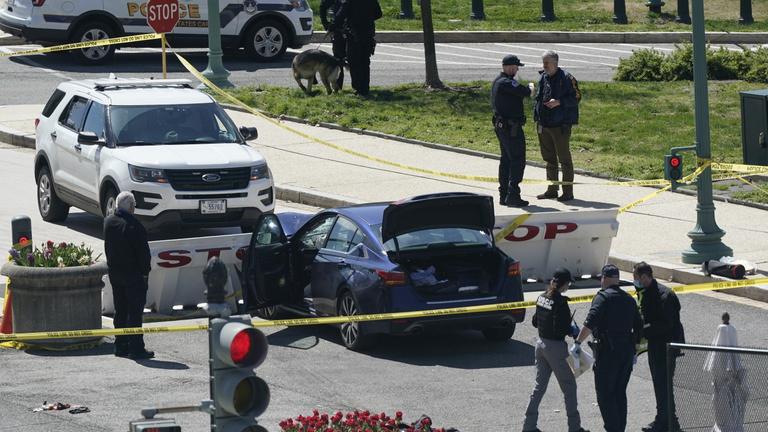 Capitoliumi támadás: egy rendőr és a merénylő is meghalt