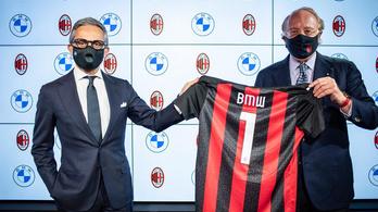 BMW-be ülhetnek az AC Milan futballistái