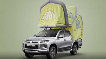 A kempingezőknek kedveskedik a Mitsubishi