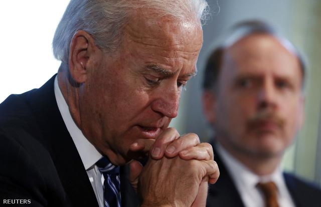 Joe Biden a csütörtöki tárgyaláson