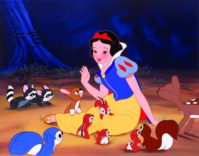A Disney féle Hófehérkeből