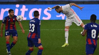 Özönvíz, három lesgól és Benzema-rekord a Real-siker során