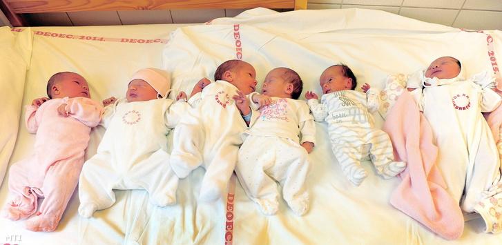 Újszülöttek a Debreceni Egyetem Klinikai Központ Szülészeti és Nőgyógyászati Klinikáján 2016-ban