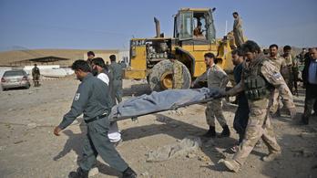 Meghalt több mint 80 tálib lázadó az afgán légierő támadásaiban
