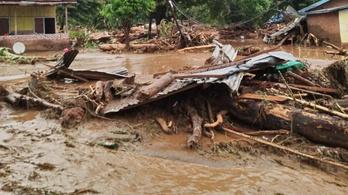 Sokan haltak meg az indonéziai földcsuszamlások miatt