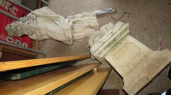 Mert jó bulinak tűnt – mondták a dombóvári szoborrongálók