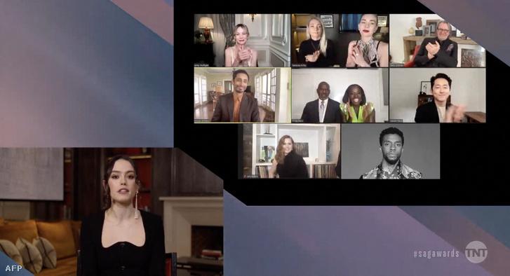 A Sreen Actors Guild (SAG) gálán Chadwick Boseman nyerte el a díját a Ma Rainey: A blues nagyasszonya című filmben nyújtott alakításáért 2021. április 4-én